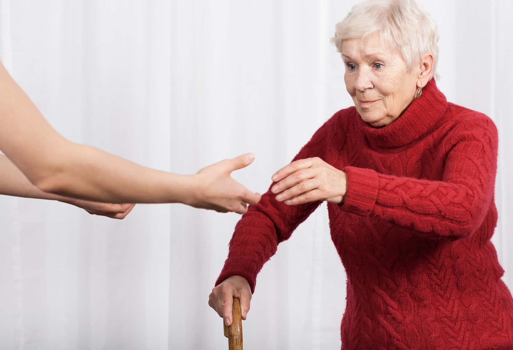 Osteoporose Patient